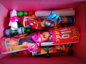 škatla sreče za deklico